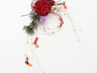 お正月飾り 新作 もち花リースNYD-21の画像