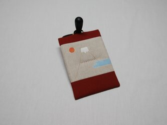掛けて絵になるなべつかみ‥富士山の画像