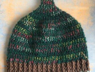 森の巣  LL とんがり帽子 ニット帽 の画像