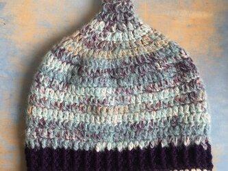 雹の巣  LL とんがり帽子 ニット帽 の画像