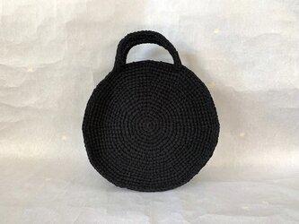 裂き編みバッグ(ラウンド型)Mサイズの画像