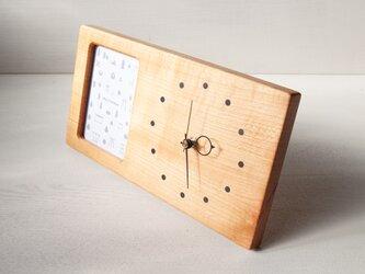 木の時計&フォトフレーム No40   山桜の画像