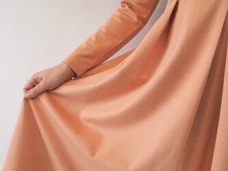 【スカート丈+11cm以上】アーミッシュ風シンプルワンピース◇オプションの画像