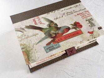 鳥を愛する人のためのブック型BOXの画像