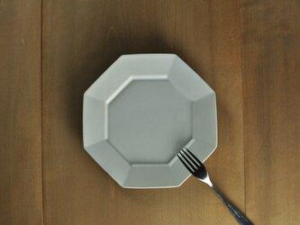 オクタングルリムプレート7寸/白の画像