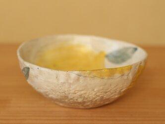 ※受注制作。粉引きレモンのサラダボウル。の画像
