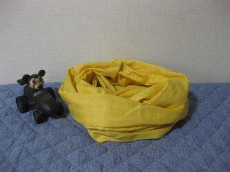 ダブルガーゼスヌード《ひまわり・二重》の画像