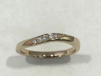 K18 Ⅼight PG ダイヤモンドリングの画像
