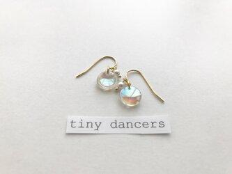 一点物 ヴィンテージ ピアス〈Tiny Dancers :BUBBLE FLOWER〉の画像