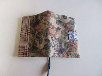 フランスなブックカバー ~陽気な小花~の画像