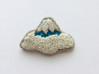 富士山 - ブローチの画像
