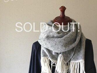 [ m様専用 ] 手織りカシミヤマフラー 他の方はご購入できませんの画像