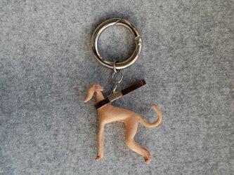 I.G. Leather Key Ringの画像