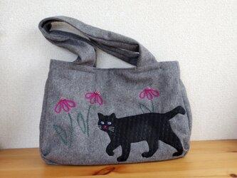 黒猫・タマちゃんの画像