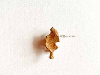 クスノキの 小葉っぱブローチ の画像