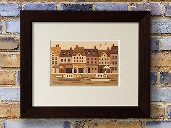 木はり絵「コペンハーゲン」の画像
