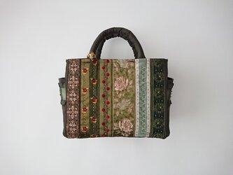 GREEN FRANCE RIBBON STANDARD BAGの画像