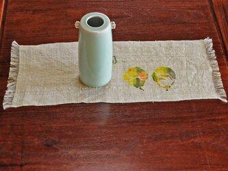テーブルマット 洋梨の画像