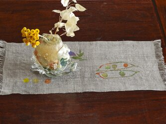 テーブルマット 豆の画像