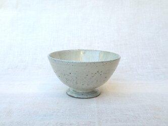 脚付デザート小鉢 ミルク窯変の画像