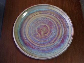 孔雀釉大皿の画像