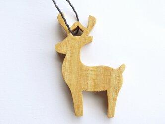 オーナメント【 トナカイ (reindeer) 】 0035/G 桐 (きり)の画像