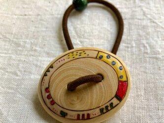 ミカンの木のヘアゴム(1)の画像