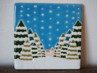 雪の朝  La Mañana Nevadaの画像