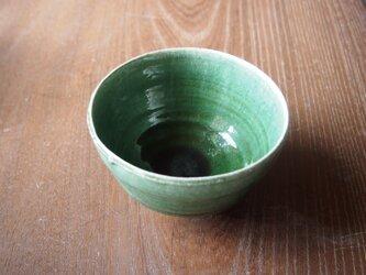 激渋い兎目天目織部茶碗の画像