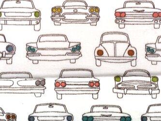 Birch プリントカットクロス カーヘッドライト自動車 オーガニックコットンファブリック生地の画像