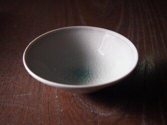 リンゴ釉清白磁平盃の画像