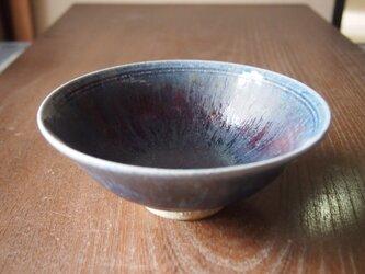 孔雀釉薬平茶碗の画像