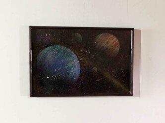 Space 額入り作品の画像