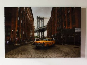 New York, Brooklyn Bridgeの画像