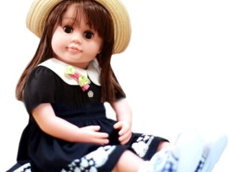 お話し人形  桃色花子の画像
