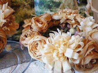 カンナのお花のリース *受注製作*の画像