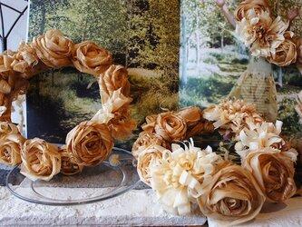 カンナの花冠 木ウェディング特別企画 *受注製作*の画像