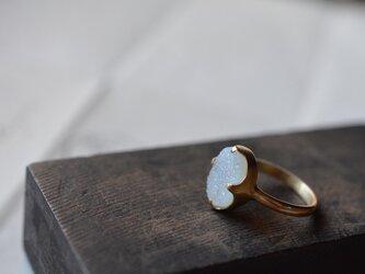 quartz agate ringの画像