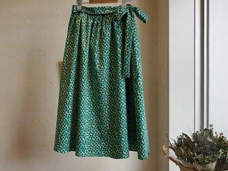 リバティ・ギャザーフレアスカート<Xanthe Sunbeam>(ザンジー・サンビーム)の画像