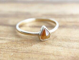 ナチュラルダイヤモンド K14 Ringの画像