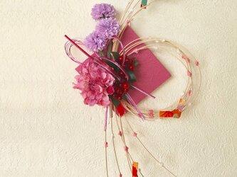 お正月飾りもち花リースMPB-07の画像