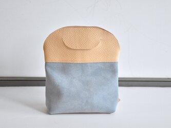 irucano minibag (アイスブルー)の画像