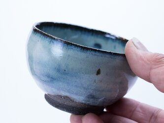 碧雪窯変 ちっちゃな丸小鉢の画像