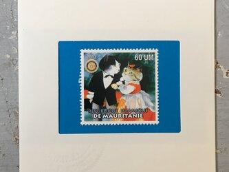 ちいさなartmuseum Mauritania stampの画像