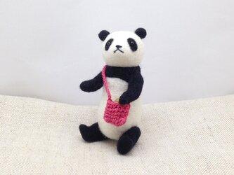 小さなお出かけパンダさん(2)の画像