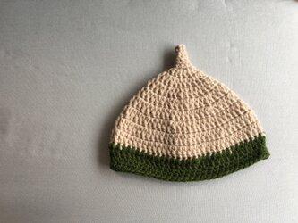 どんぐり帽子 子供用の画像