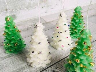 *クリスマスツリー アロマキャンドル*の画像