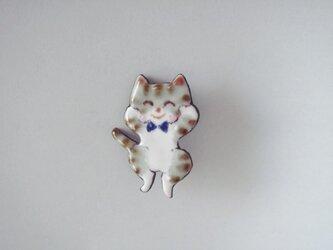 七宝 縞猫 嬉しくてジャンプの画像