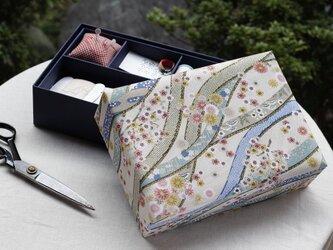 花筏の裁縫箱の画像