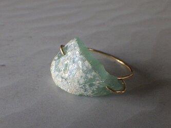 14kgf Ancient Romanglass Ringの画像